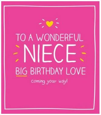 Niece Birthday - Big Birthday Love