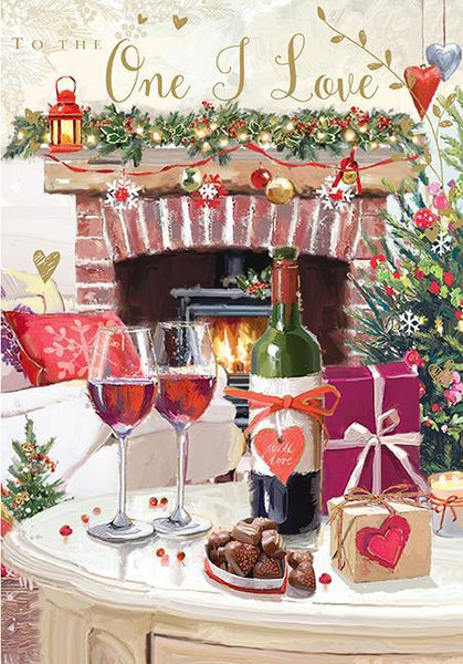 Christmas Card - One I Love - Christmas Treats