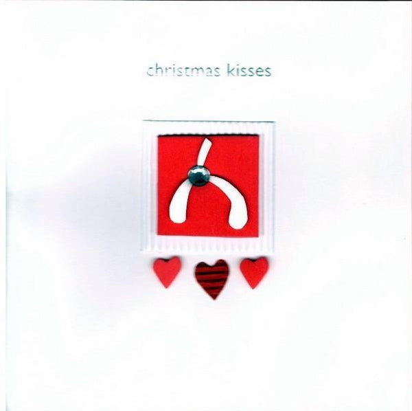 Christmas Card - One I Love - Christmas Kisses