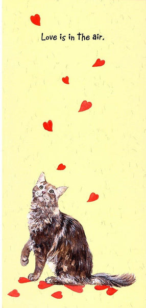 One I Love Card - Love Cat