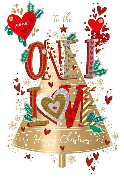Christmas Card - One I Love - One I Love At Christmas