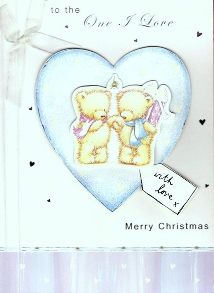 Christmas Card - One I Love - With Love