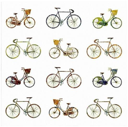 Children's Birthday Card - Bicycles