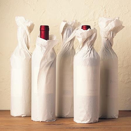 Blank Card - Wrapped Bottles