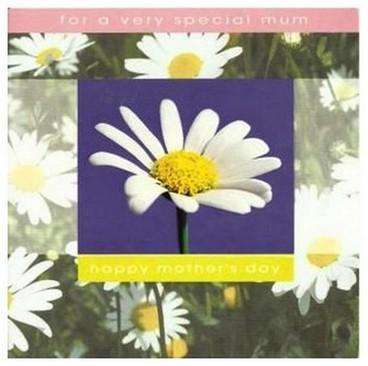 Mother's Day Card - Large Daisies