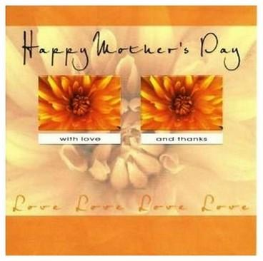 Mother's Day Card - Chrysanthemums