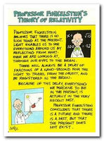 Humour Card - Professor Finkelstein's Theory of Relativity