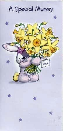 Easter Card - A Special Mummy