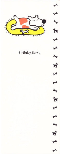 Children's Birthday Card - Birthday Barks