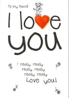 Fiancé Card - I Really Really Love You