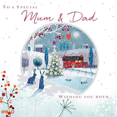 Christmas Card - Mum and Dad - Home For Christmas