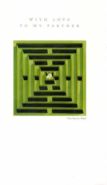 Partner Card - The Secret Maze