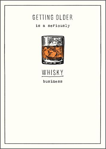 Humour Card - Whisky Business