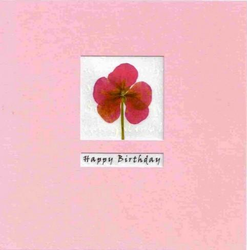 Birthday Card - Pink Birthday