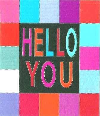 Birthday Card - Hello You