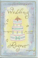 Wedding Regret Card - Wedding Cake