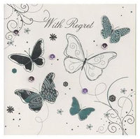 Regret Card - Butterflies
