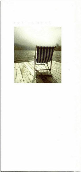 Retirement Card - Deckchair