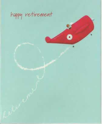 Retirement Card - Light Aircraft