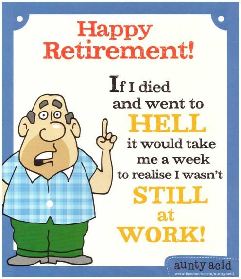 Retirement Card - You Lucky Devil