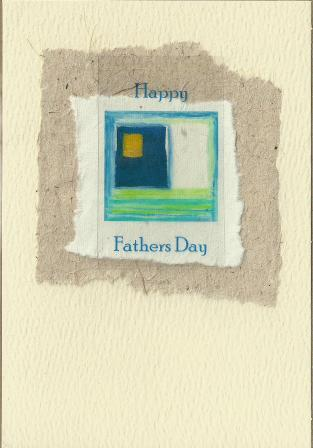 Father's Day Card - Father's Day Square 1