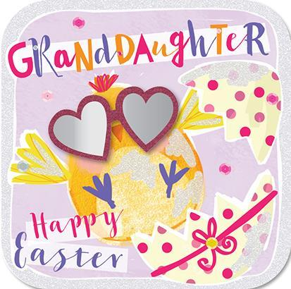 Easter Card - Granddaughter - Cool Chick