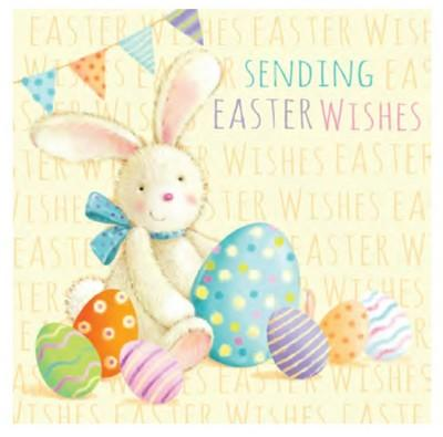 Easter Card - Bunny Easter Wishes