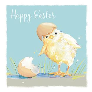 Easter Card - Easter Chick