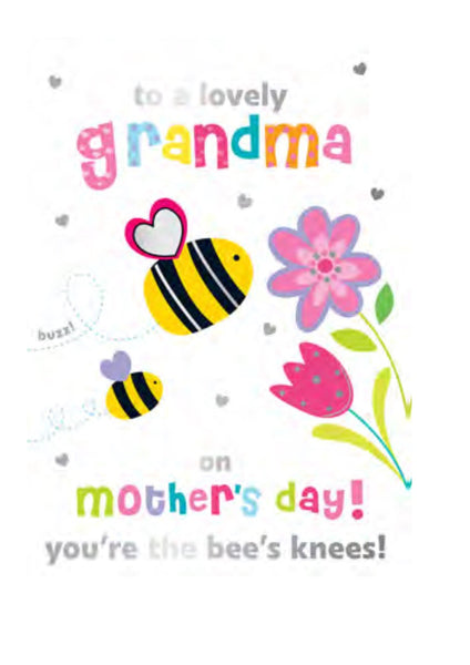 Mother's Day Card - Grandma - Lovely Grandma