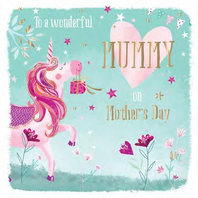 Mother's Day Card - Magical Unicorn