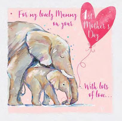 Mother's Day Card - Lovely Mummy