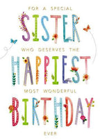 Sister Birthday - Happiest Birthday