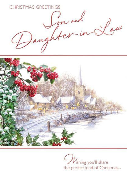 Christmas Card - Son and Daughter-in-Law - Village Church