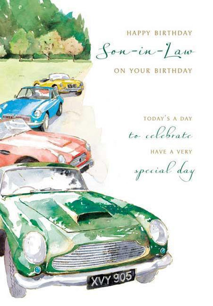 Son-in-Law Birthday - Vintage Rally