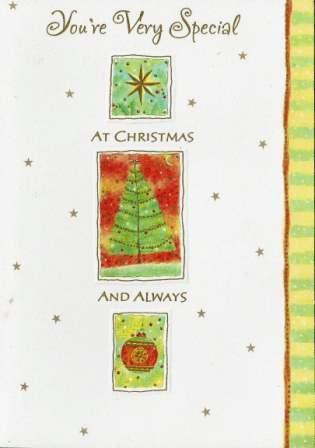 Christmas Card - Stepdaughter - Christmas Icons