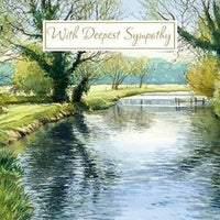 Sympathy Card - Reflections
