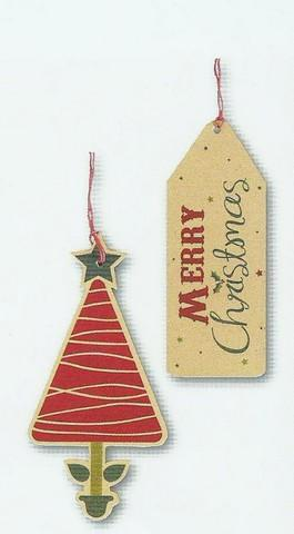 Christmas Gift Tags - Kraft - Recyclable