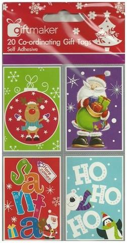Christmas Gift Tags - Novelty Kids (AC)