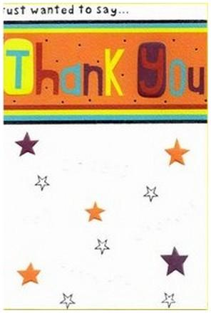 Thank You Card - Thank You 4 Ways