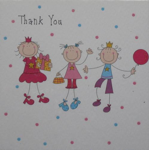 Thank You cards - Pack of 4 - Party