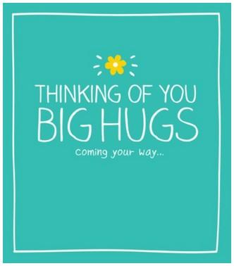 Thinking of You Card - Big Hugs
