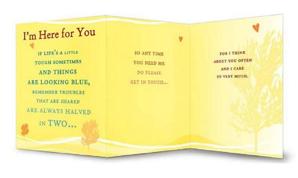 Thinking of You Card - I'm Here For You