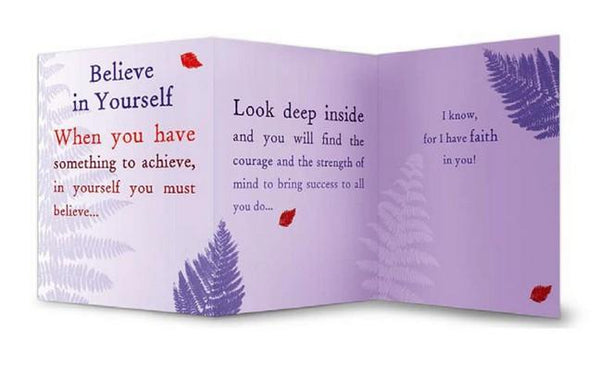 Thinking of You Card - Believe In Yourself