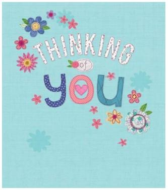 Thinking of You Card - Thinking of You Floral