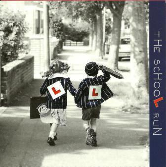 Blank Card - The School Run