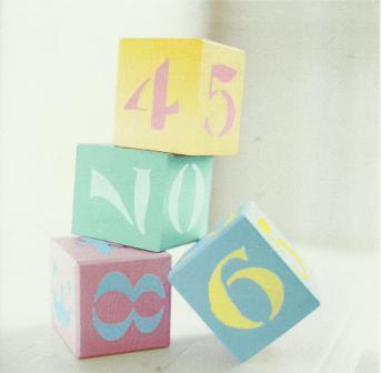 New Baby Card - Baby - Baby Blocks