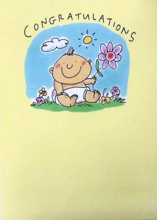 New Baby Card - Baby - Ray Of Sunshine