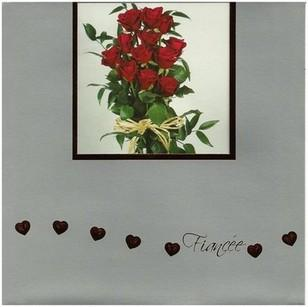 Fiancée Card - Dozen Red Roses