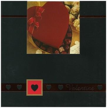 Valentine Card - Heart Shaped Box Of Chocolates