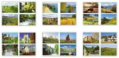 Blank Cards - Pack of 12 Blank Cards - Visit Britain